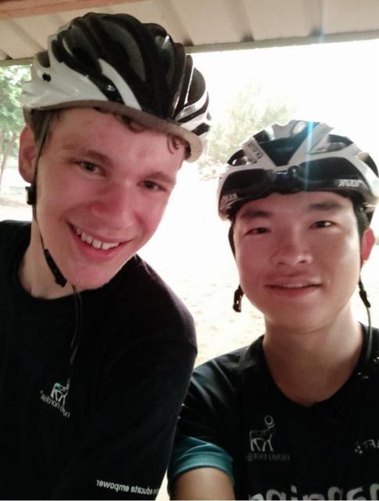 Selfie met Dong