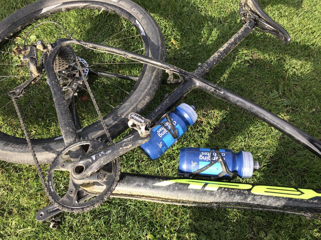 Wat zout water en zand met je fiets doet